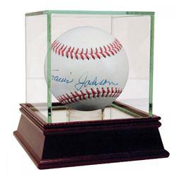 Travis Jackson Signed OL Baseball With High Quality Display Case (JSA LOA)