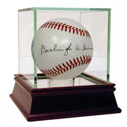 Burleigh Grimes Signed OAL Baseball (PSA Hologram)