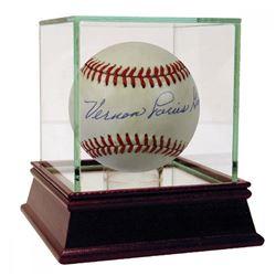 """Vernon Louis """"Lefty"""" Gomez Signed OAL Baseball (PSA Hologram)"""