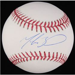 Mookie Betts Signed OML Baseball (PSA COA)
