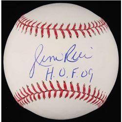 "Jim Rice Signed OML Baseball Inscribed ""H.O.F. 09"" (JSA COA)"