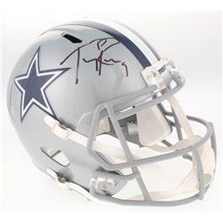 Tony Romo Signed Dallas Cowboys Full-Size Speed Helmet (JSA COA)