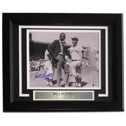 Bill Russell Signed Boston Celtics 11x14 Custom Framed Photo Display (Beckett COA)