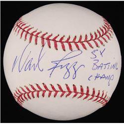 "Wade Boggs Signed OML Baseball Inscribed ""5x Batting Champ"" (JSA COA)"