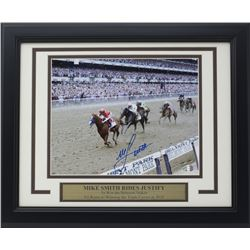 Mike Smith Signed 11x14 Custom Framed Photo Display (SI COA)