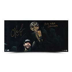 "Kevin Love Signed Cleveland Cavaliers ""Enduring"" 30"" x 15"" Limited Edition Photo Inscribed ""2016 NBA"