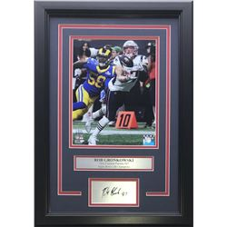 Rob Gronkowski New England Patriots 14x17 Custom Framed Photo Display
