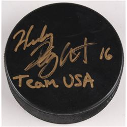 "Hilary Knight Signed Hockey Puck Inscribed ""Team USA"" (JSA COA)"