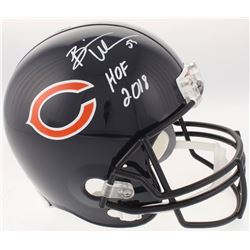 "Brian Urlacher Signed Chicago Bears Full-Size Helmet Inscribed ""HOF 2018"" (JSA COA)"