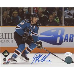 Patrick Marleau Signed San Jose Sharks 8x10 Photo (JSA COA)