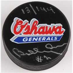 Bobby Orr Signed LE Oshawa Generals Logo Hockey Puck (Great North Road COA)