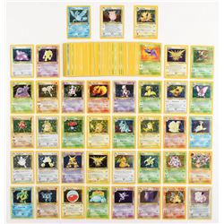 Lot of (103) Base Set  Fossil Pokemon Cards with Mewtwo, Zapdos, Charizard, Articuno
