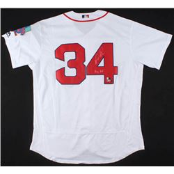 "David Ortiz Signed Boston Red Sox ""Farewell Season"" Jersey Inscribed ""Big Papi"" (Steiner COA  MLB Ho"