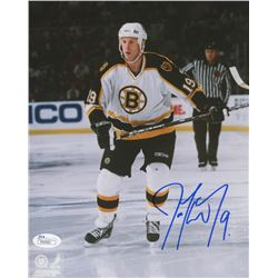 "Joe Thornton Signed Boston Bruins ""Rookie Year"" 8x10 Photo (JSA COA)"