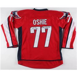 "T. J. Oshie Signed Washington Capitals Jersey Inscribed ""2018 Stanley Cup Champs"" (JSA COA)"
