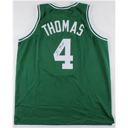 Isaiah Thomas Signed Boston Celtics Jersey (JSA COA)