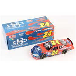 Jeff Gordon Signed NASCAR #24 DuPont / Performance Alliance 2005 Monte Carlo 1:24 Premium Die-cast C