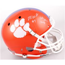 """Mike Williams Signed Clemson Tigers Full-Size Helmet Inscribed """"2016 National Champs"""" (JSA COA)"""