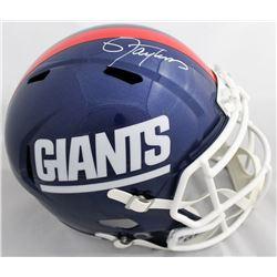 Lawrence Taylor Signed New York Giants Full-Size Speed Helmet (JSA COA)