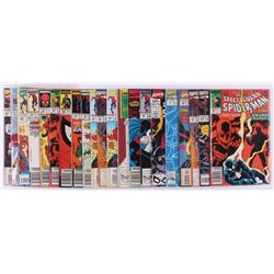 """Lot of (21) Assorted """"The Spectacular Spider-Man"""" Marvel Comic Books  (1) 1994 """"The Chaos Effect"""" Is"""