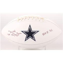 "Mel Renfro Signed Dallas Cowboys Logo Football Inscribed ""HOF 96"" (SGC COA)"