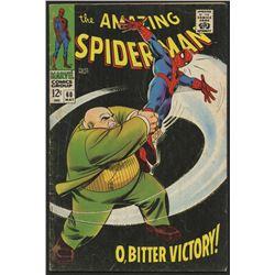 "Vintage 1967 ""Spider-Man"" Vol. 1 Issue #60 Marvel Comic Book"