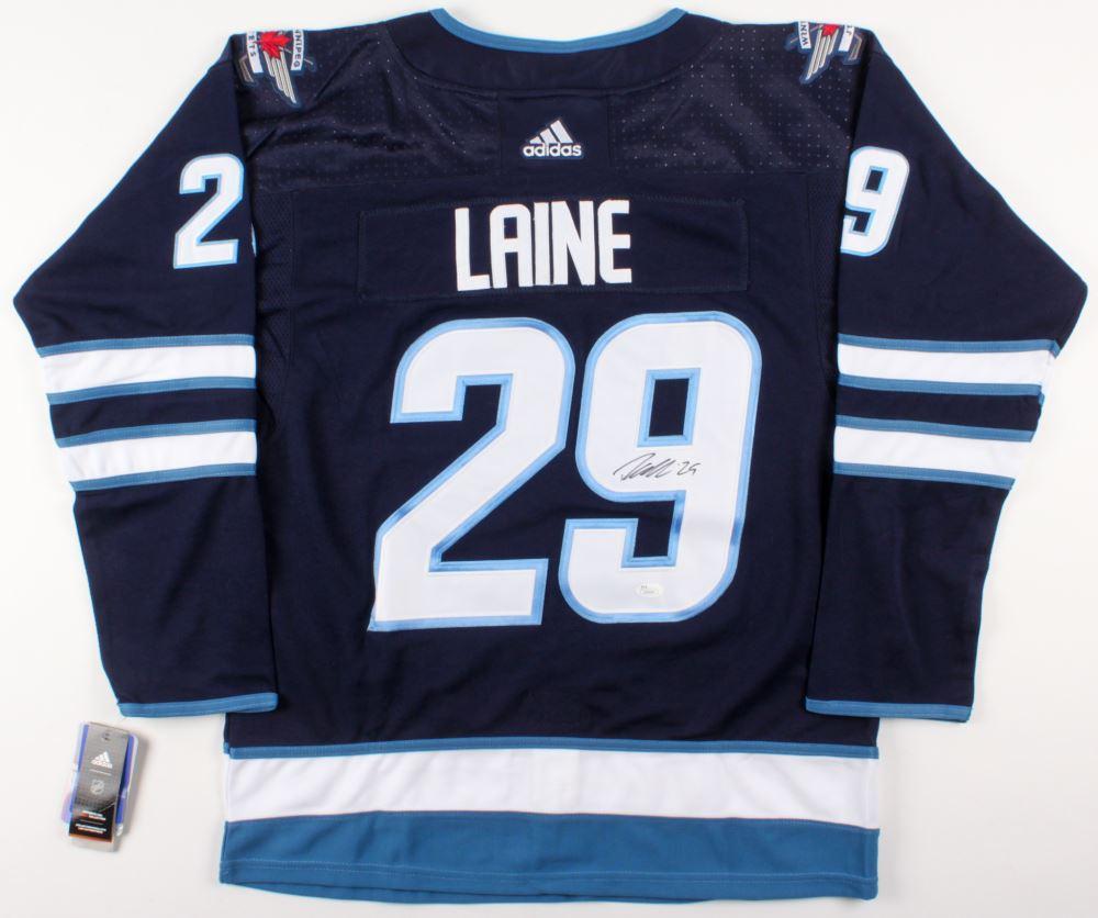 sports shoes 7544e 5b448 Patrik Laine Signed Winnipeg Jets Jersey (JSA COA)