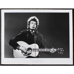 """The Hulton Archive - Bob Dylan """"Like a Rolling Stone"""" Limited Edition 17x22 Fine Art Giclee on Paper"""