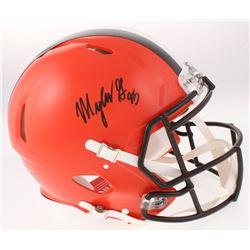 Myles Garrett Signed Cleveland Browns Full-Size Authentic On-Field Speed Helmet (JSA COA)