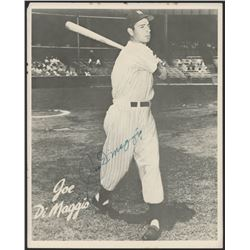 Joe DiMaggio Signed New York Yankees 8x10 Photo (JSA ALOA)