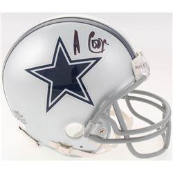 Amari Cooper Signed Dallas Cowboys Mini-Helmet (JSA COA)