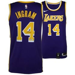 Brandon Ingram Signed Los Angeles Lakers Nike Jersey (Fanatics Hologram)