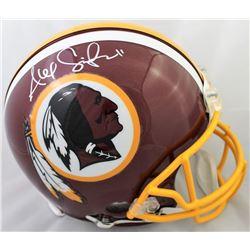 Alex Smith Signed Washington Redskins Full-Size Authentic On-Field Helmet (Beckett COA)