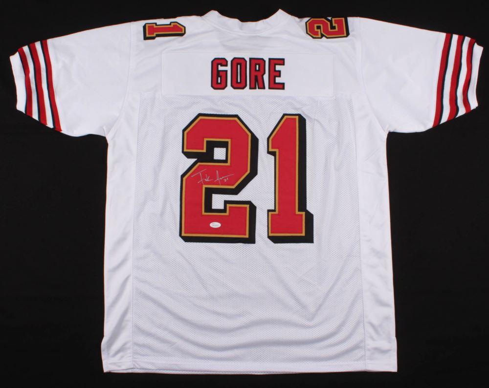 official photos ed225 07a87 Frank Gore Signed San Francisco 49ers Jersey (JSA COA)