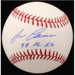 "Jose Canseco Signed OML Baseball Inscribed ""86 AL ROY"" (Beckett COA)"