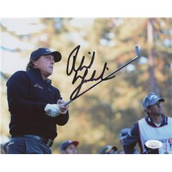 Phil Mickelson Signed 8x10 Photo (JSA COA)
