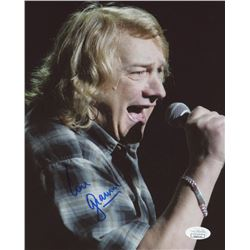 Lou Gramm Signed 8x10 Photo (JSA COA)