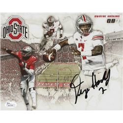 Dwayne Haskins Signed Ohio State Buckeyes 8x10 Photo (JSA COA)