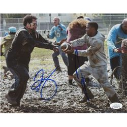 "Kevin Hart  Josh Gad Signed ""The Wedding Ringer"" 8x10 Photo (JSA COA)"