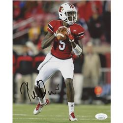 Teddy Bridgewater Signed Louisville Cardinals 8x10 Photo (JSA COA)