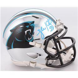Luke Kuechly Signed Carolina Panthers Chrome Speed Mini-Helmet (JSA COA)