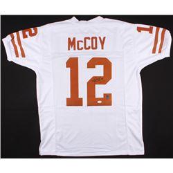 Colt McCoy Signed Texas Longhorns Jersey (JSA COA  McCoy Hologram)