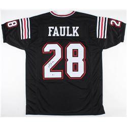 Marshall Faulk Signed San Diego State Aztecs Jersey (Beckett COA)