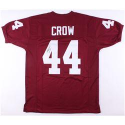 "John David Crow Signed Texas AM Aggies Inscribed ""'57 Heisman"" (JSA COA)"