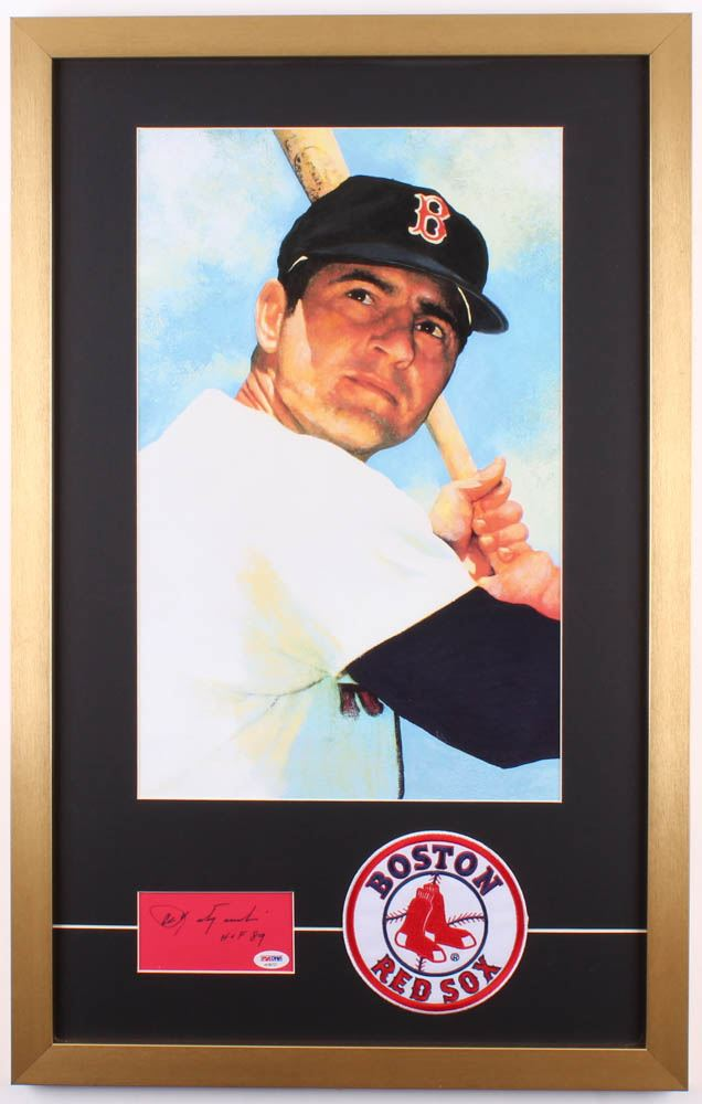 Carl Yastrzemski Signed Boston Red Sox 19x30 Custom