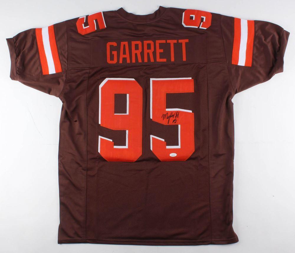 huge discount 4e08d 5d7d2 Myles Garrett Signed Cleveland Browns Jersey (JSA COA)