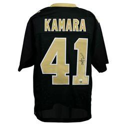 Alvin Kamara Signed New Orleans Saints Jersey (JSA Hologram  SI COA)