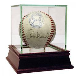 1943 Boston Red Sox OAL Baseball Team-Signed by (18) with Boddy Doerr, Al Simmons, Tex Hughson, Leon