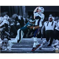 Brandon Graham Signed Philadelphia Eagles Super Bowl 52 16x20 Photo (JSA COA)