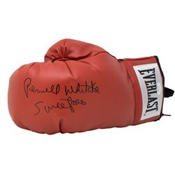 """Pernell Whitaker Signed Everlast Boxing Glove Inscribed """"Sweet Pea"""" (JSA COA)"""